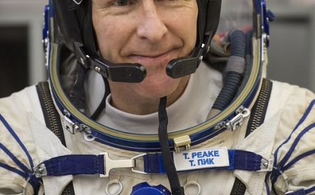 Blue Abyss flies high with astronaut Tim Peake